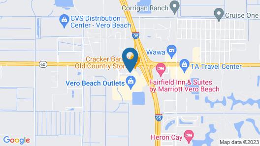 Holiday Inn Express - Vero Beach Map
