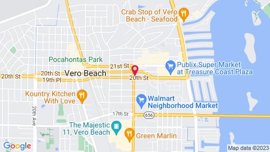 Vero Inn Map