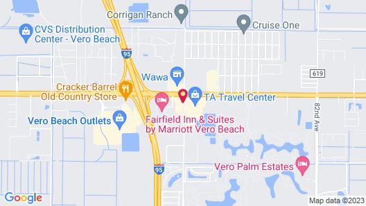 Howard Johnson by Wyndham Vero Beach/I-95 Map