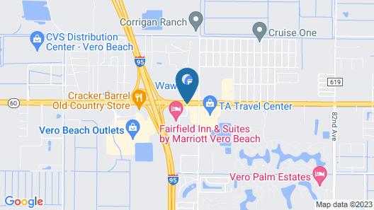 Comfort Suites Vero Beach I-95 Map