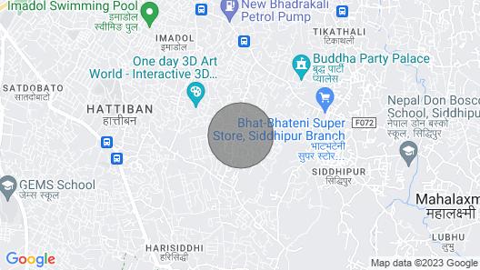 Beautiful house in patan Map