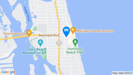 Sea Turtle Inn Map