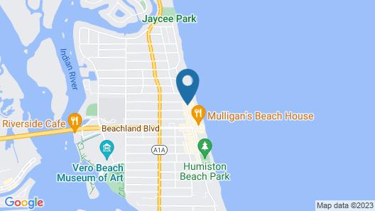 Kimpton Vero Beach Hotel & Spa Map