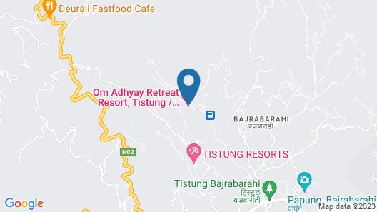 Om Adhyay Retreat Resort Map