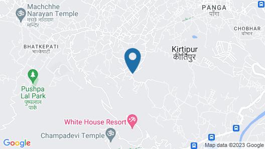 Homestay Nepal Map