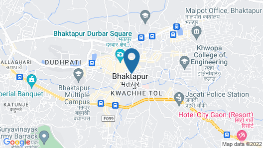 Heart of Bhaktapur Map