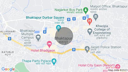 Taumdhi Homestay in Bhaktapur, Nepal Map