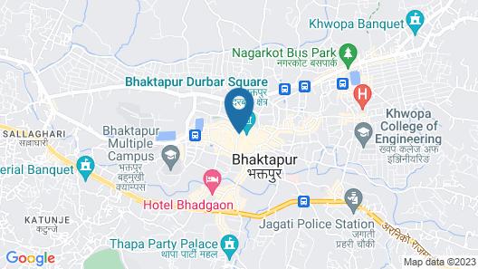 Khwapa Chhen Guest House and Restaurant Map