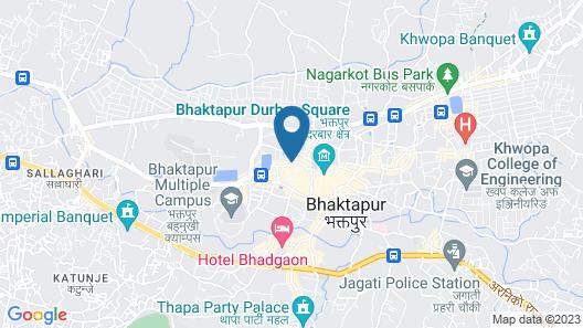 THAGU CHHEN A Boutique hotel Map