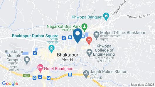 Pradhan House Homestay Map