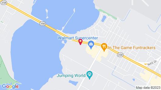 Executive Residency by Best Western Corpus Christi Map