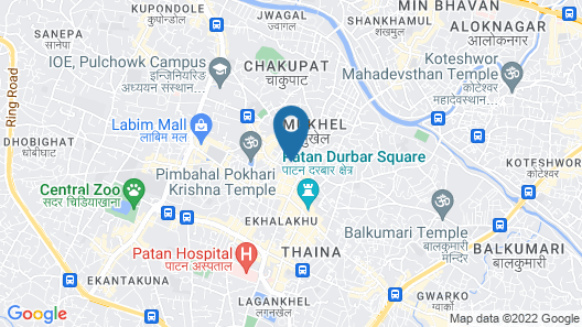 Peace Gallery Inn Map