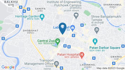 Himalaya Apartment Hotel Map