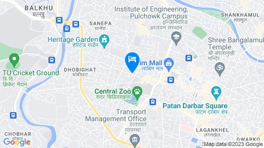 Vivanta Kathmandu Map