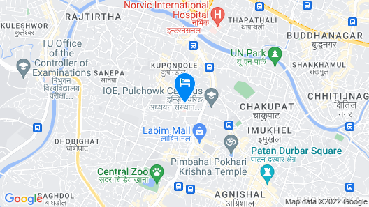 Classic Serviced Apartments Map