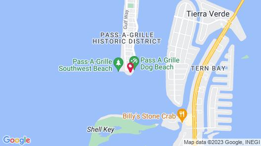 Island's End Resort Map
