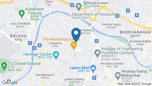 Sanepa Apartment Map