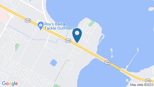 Motel 6 Corpus Christi, TX - East - North Padre Island Map