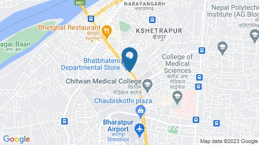Hotel Royal Century Map