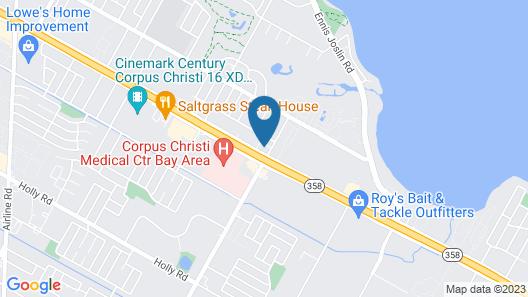 Wingate by Wyndham Corpus Christi Map
