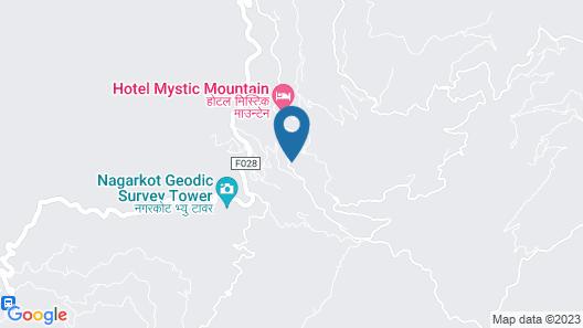 Bhangeri Durbar Resort Map