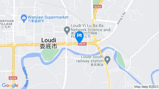 Shengtong Hotel Map