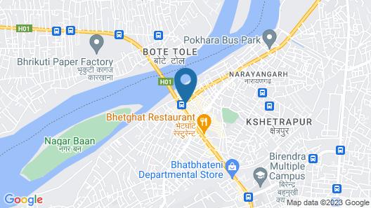 Hotel Gangotri Map