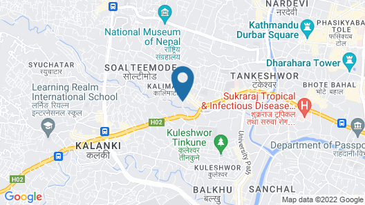 Kathmandu Heritage Home by Casa Deyra Map