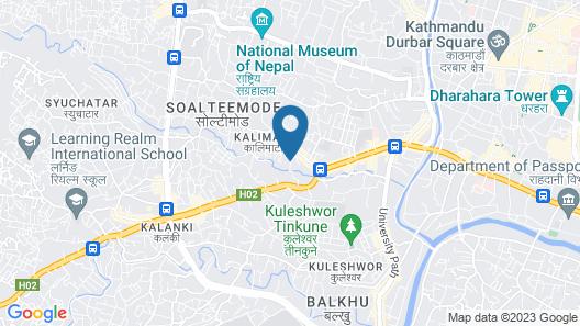 Kathmandu Heritage Home Map