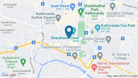 OYO 786 Hotel Shree Guru Annex Map
