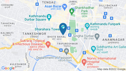 Hotel Swastik Map