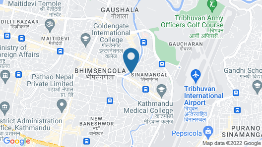 Hotel Readers Inn Pvt.Ltd Map