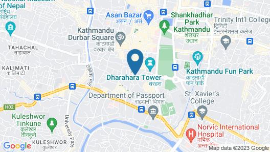 OYO 297 Hotel Aayam Map