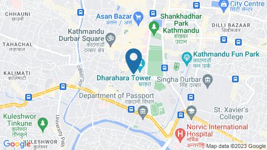 OYO 287 Hotel Buddha Palace Map