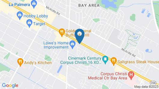 La Quinta Inn by Wyndham Corpus Christi South Map