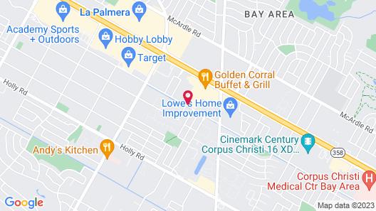 Motel 6 Corpus Christi, TX Map