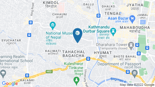 Tahachal Apartment 2blk Map
