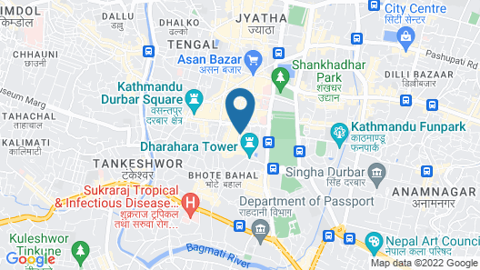 Pashupati Plaza Map