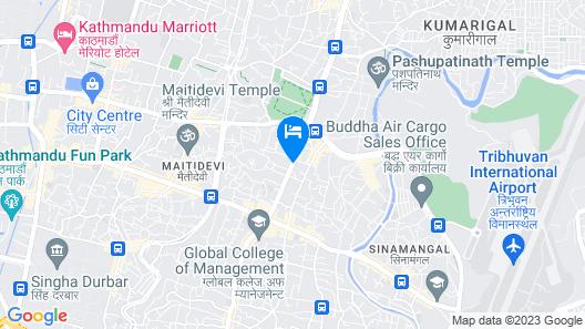 The Dwarika's Hotel Map
