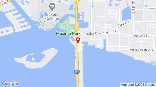 Magnuson Hotel Marina Cove Map