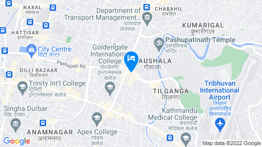 OYO 160 Hotel Shraddha Palace Map