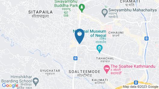 Nirmala Homestay Map