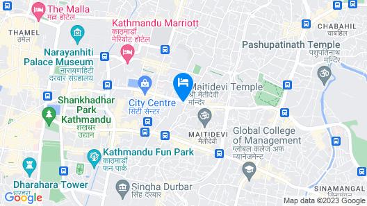 Kaveri Inn Map