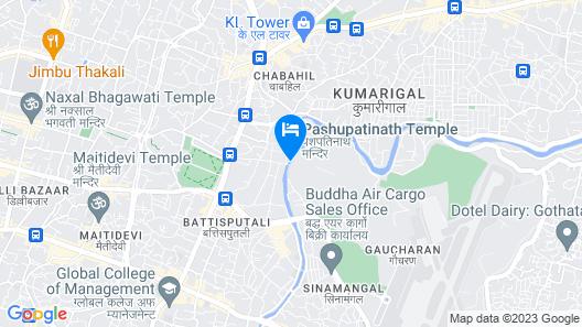 Hotel Narayana Map