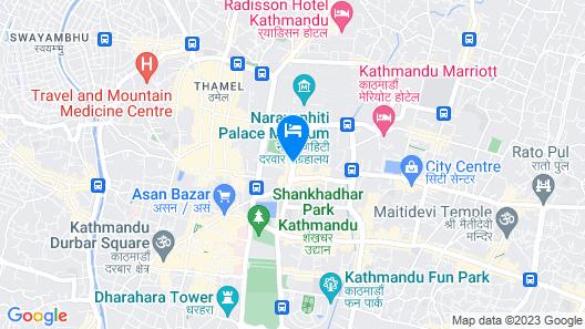 Hotel Annapurna Map