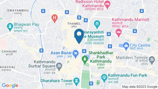 Hotel Everest Nepal Map