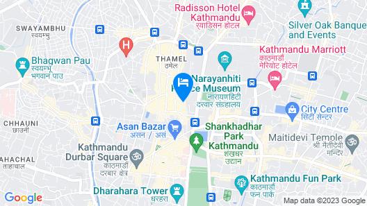 Kumari Boutique Hotel Map