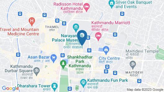 Hotel Yak & Yeti Map