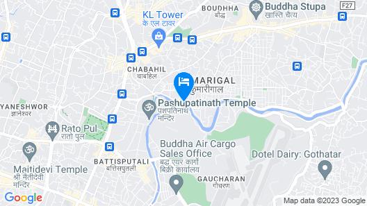 Mahadev Hotel Map