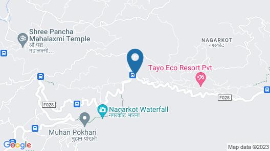 Everest Manla Resort Map